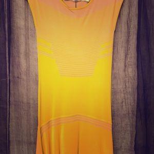 Leon Max Limited Edition Asymmetric Dress